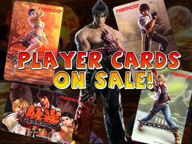 Player Cards On Sale!