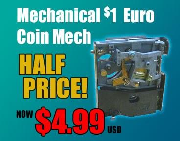 Half Price Euro Coinmech