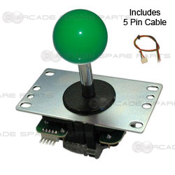 Sanwa Joystick JLF-TP-8YT-G (Green)