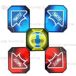 Pump It Up Arrows (5pcs Set)