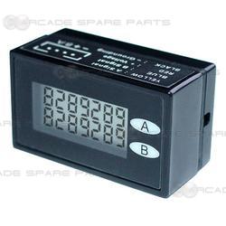 Digital Coin Meter (Dual 7 digit counter)