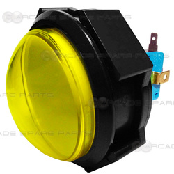 Dome Illuminated Push Button (Yellow)