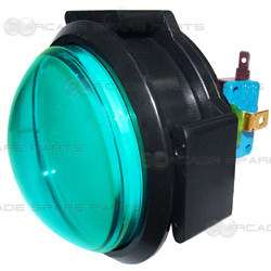 Dome Illuminated Push Button (Green)