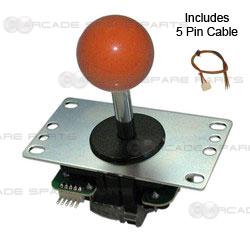 Sanwa Joystick JLF-TP-8YT-O (Orange)