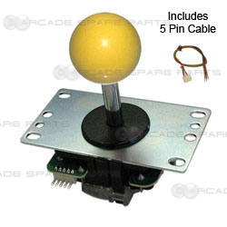 Sanwa Joystick JLF-TP-8YT-Y (Yellow)