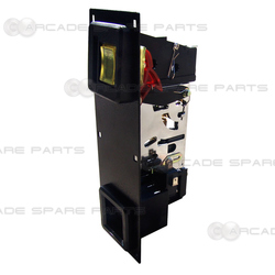 Faceplate with Mechanical Coin Mech US$0.25c Assembly