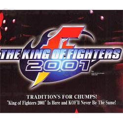 King of Fighters 2001 Neo Geo MVS Cartridge