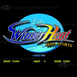 Winter Heat Sega STV Cartridge (Z)