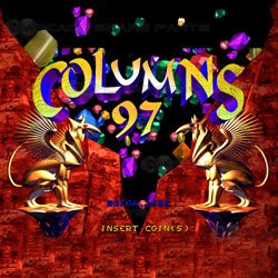 Columns 97 Sega STV Cartridge (Z)