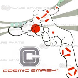 Naomi Motherboard plus Cosmic Smash Cartridge