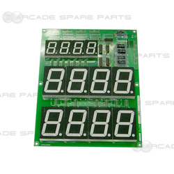 Dragon Punch FND PCB Assembly