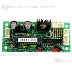 King of the Hammer Ticket Control PCB