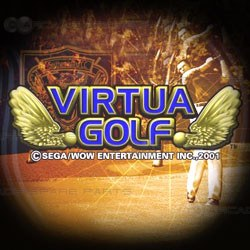 Sega Parts Virtua Golf plus 1 Panel