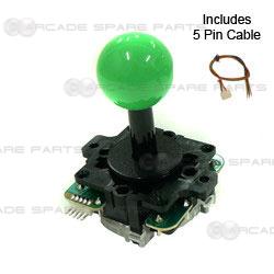 Sanwa Joystick JLF-TP-8Y-SK-G (Green)