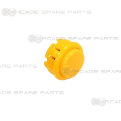 Arcade Pushbutton 33mm - Yellow