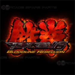Tekken 6 Bloodline Rebellion PCB Only