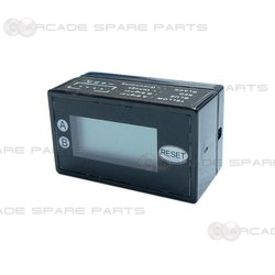 H2-7EA2 LCD Dual Row 7 Digits Counter