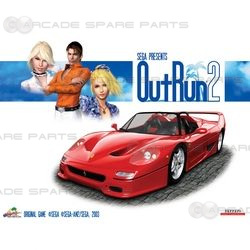 OutRun 2 Chihiro Motherboard with GD-ROM (Z)