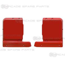 Wangan Midnight Maximum Tune 3/3DX/3DX+ Cabinet Red Plastic Set