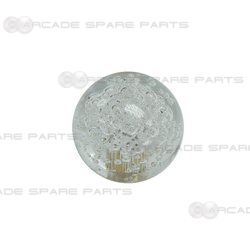 Bubble Top Ball for Joystick (Clear White, Big Bubble Style)
