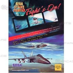 Sega Strike Fighter PCB Gameboard
