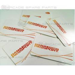 Bandai Namco Banapassport Card