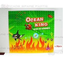 Ocean King Panels plus Sticker Set