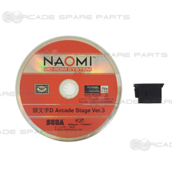 Initial D Arcade Stage Ver. 3 Disc & Security Chip