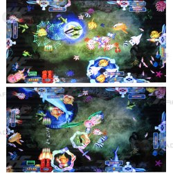 Seafood Paradise 2 Arcade Game Board