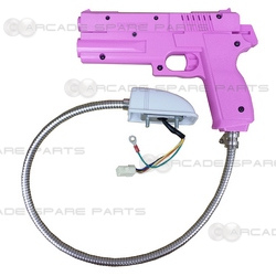 Namco Gun Assembly for Time Crisis 1 & 2, Point Blank (Pink)