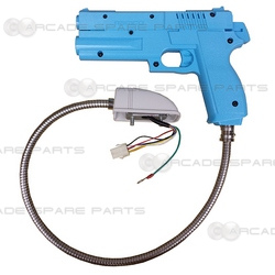 Namco Gun Assembly for Time Crisis 1 & 2, Point Blank (Blue)
