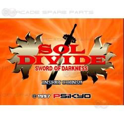 Sol Divide: Sword of Darkness Arcade PCB