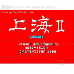 Shanghai 2 Arcade PCB