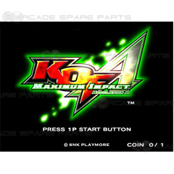 "King Of Fighters Maximum Impact Regulation ""A"" HDD & USB"