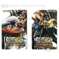Super Street Fighter 4 Arcade Edition Player Card