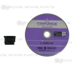 Sega Parts  F-Zero AX Software Disc and Security Key (Jap ver)