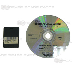 Gundam SEED Destiny: Federation Vs. ZAFT II Software Disc and Security Key (Jap ver)