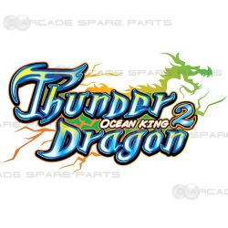 IGS Parts  Ocean King 2: Thunder Dragon Arcade Gameboard Kit