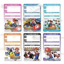 Mario Kart Arcade GP 1/2 Player Card