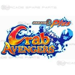 Ocean King 3 Plus: Crab Avengers Gameboard Kit