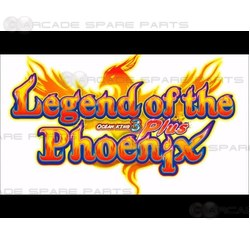 Ocean King 3 Plus: Legend of the Phoenix Gameboard Kit