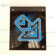 Pump It Up New Step Acryl - Right Blue