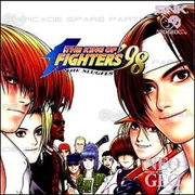 Taito Type X King of Fighters '98 Ultimate Match Whole Board