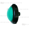 Jumbo Dome Illuminated Push Button (Green)