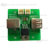 Pump It Up FX USB ON/OFF PCB Assembly