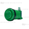 Arcade Button - Standard Push Button (Emerald Green)