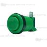Arcade Button - Standard Push Button (Emerald Green)