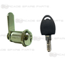 Door Cam Lock with Removable Barrel 25mm K3007