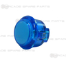 Sanwa Button OBSC-30-B (Clear Blue)