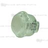 Sanwa Button OBSC-30-W (Clear White)
